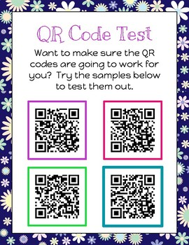 Listen to Reading Patricia Polacco Author Study Printables with QR Codes