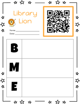 Listen to Reading Printables with QR Codes (Beginning, Middle, and End Version)