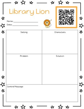 Listen to Reading Printables with QR Codes (Story Elements Version)
