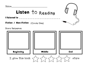 Listen to Reading Response