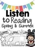 Listen to Reading Response Sheets for Spring | Reading Response Worksheets