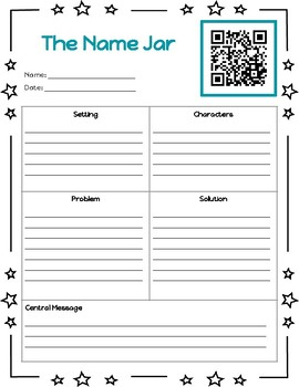 Listen to Reading Yangsook Choi Author Study Printables with QR Codes