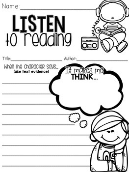 Listen to Reading - part two