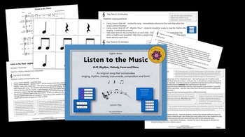Listen to the Music: Orff, Rhythm, Melody, Form and More (Eighth Notes)