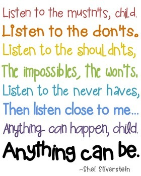 Listen to the Mustn'ts Posters