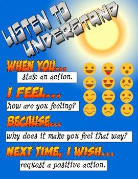 Listen to understand Poster