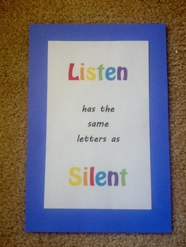 Listen/Silent