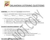 Listening Activities: Musical Theater: Oklahoma