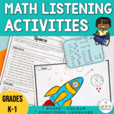 Shape Activities with Positional Language