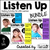 Listening Activities for Common Core~ THE BUNDLE Sets 1-3