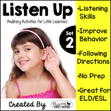 Listening Activities for Common Core~ Listen Up Set 2