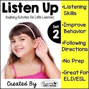 Listening Activities for Common Core~ Listen Up Set 2