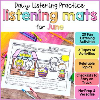 Listening Activities for June