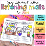 Listening Activities for June