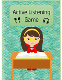 Listening Activity Bundle--Active Listening Game and Blow