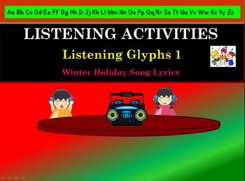 Listening Activity: Listening Glyphs: Winter Songs 1