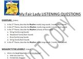 Listening Activity: Musical Theater: My Fair Lady
