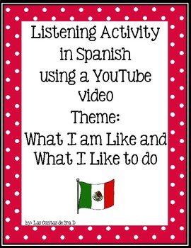 Listening Activity in Spanish