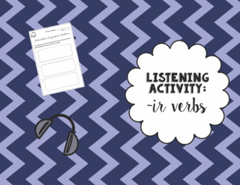 Listening Activity with Present Tense -IR Verbs