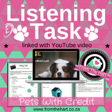 Listening Assessment - Pets with Credit