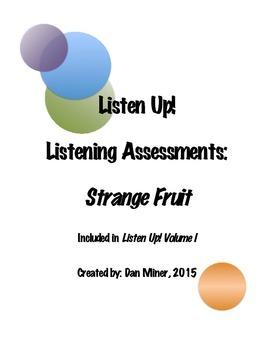 Listening Assessment- Strange Fruit