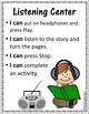 Listening Center Reproducibles