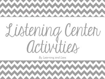 Listening Center Activities