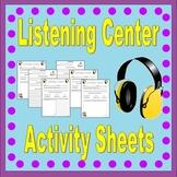 Listening Center Activities *Teacher Time Savers*