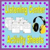 Listening Center Activities *Teacher Time Savers*