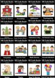 Listening Center Book QR Codes - Growing Bundle