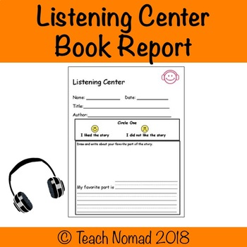 Listening Center Book Report