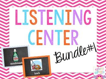Listening Center Bundle #1: R, TH, S, S Blends