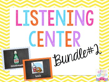Listening Center Bundle #2: K, G, L