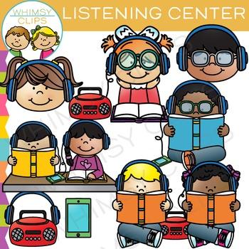 Classroom Listening Center Clip Art
