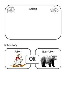 Listening Center Comprehension / Retell Sheet