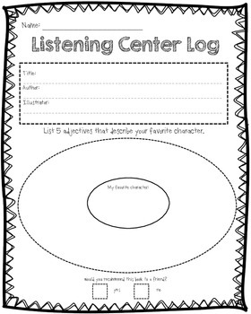 Listening Center Extension Packet