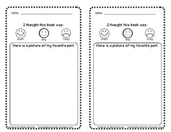 Listening Center Form (FREE)