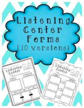 Listening Center Forms