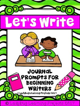 Listening Center Journal Prompts for Beginning Writers
