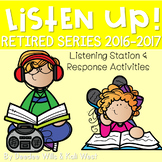 Listening Center: Listen UP!  RETIRED 2016-2017 K and 1st