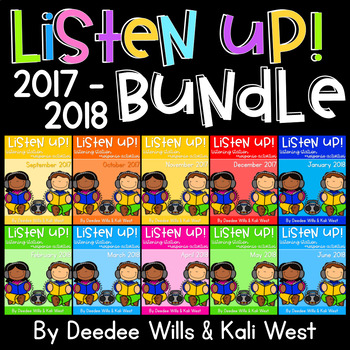 Listening Center: Listen UP!  2017-2018 K and 1st GROWING BUNDLE