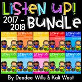 Listening Center: Listen UP!  2017-2018 K and 1st  Retired Set