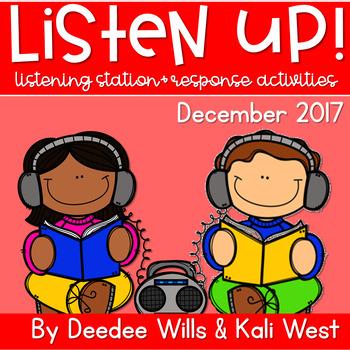 Listening Center: Listen UP!  2017-2018 K and 1st December