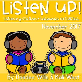 Listening Center: Listen UP!  2017-2018 K and 1st November
