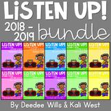 Listening Center: Listen UP!  2018-2019  K and 1st  GROWING SET