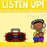 Listening Center: Listen UP!  2018-2019 K and 1st January