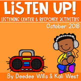 Listening Center: Listen UP!  2018-2019 K and 1st October