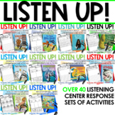 Listening Center: Listen UP!  2019-2020  K and 1st  Year-l