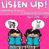 Listening Center: Listen UP! April 2016-2017 K and 1st