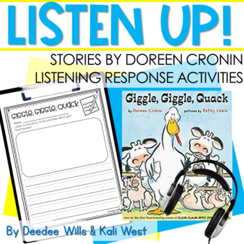 Listening Center: Listen UP!  | Doreen Cronin Series
